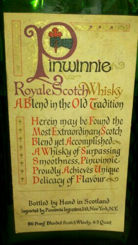 Pinwinnie Royal Scotch Whisky (3/4)