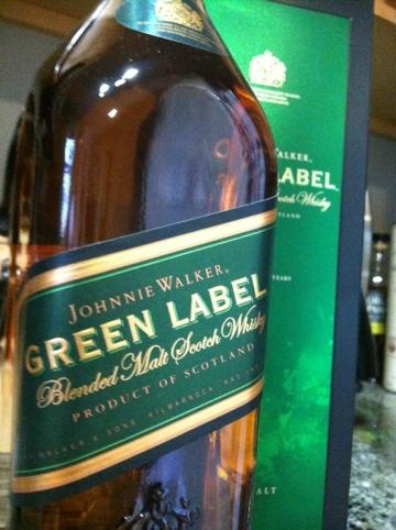 Johnny Walker Green Label - A farewell