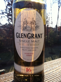 Glen Grant 16 year aged Single Malt Scotch Whisky