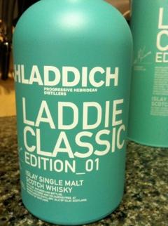 Bruichladdich Laddie Classic Ed. 01 Single Malt Scotch Whisky notes (1/2)