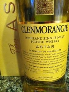 Glenmorangie's Astar, Single Malt Scotch Whisky