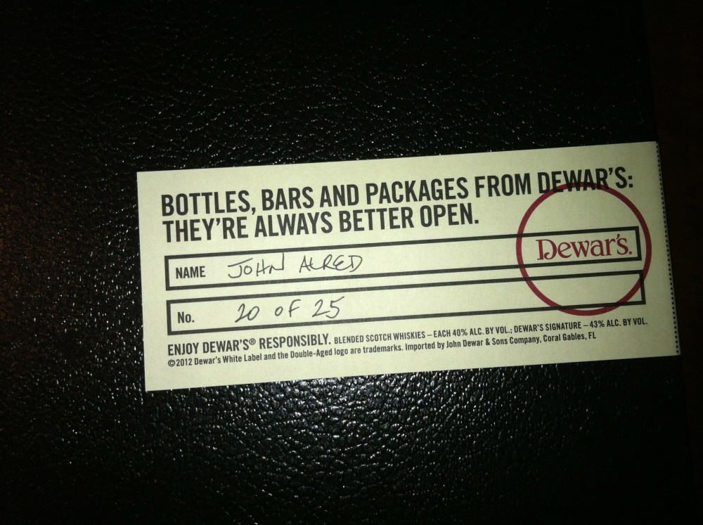 Dewar's 18 Year Old Double Aged Blended Whisky Review (1/3)